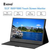 "Eyoyo 13,3 ""Xbox 360-Zoll-IPS 1920 * 1080 10-Punkt-Touchscreen-HDMI-Display"