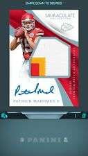Panini NFL BLITZ APP:Rookie Patch Autograph-PATRICK MAHOMES (Digital Card)