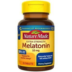 Nature Made Extra Strength Melatonin 10mg