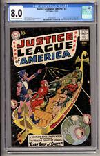 JUSTICE LEAGUE OF AMERICA #3 CGC VF 8.0 1961 DC COMICS 1ST KANJAR RO