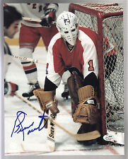 Bernie Parent Autographed 8x10 Color Philadelphia Flyers Photo SGC COA