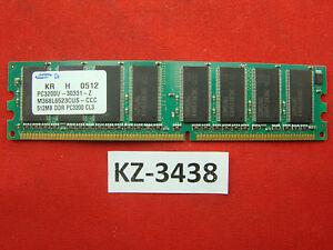 Samsung M368L6523CUS-CCC 512MB, PC3200, DDR1, 400Mhz, 184pin #KZ-3438