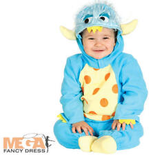 Cute Baby Monster Kids Fancy Dress Boys Girls Toddler Halloween Costume Outfit
