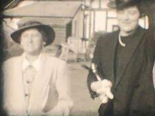 AMATEUR 1938 BEACH HOUSE GARDENS 8MM PRIVATE HOME MOVIE FOOTAGE Cine Film 30s