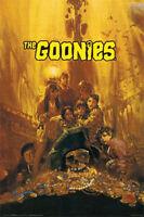 THE GOONIES MOVIE POSTER - 24x36 TREASURE CLASSIC - 7829