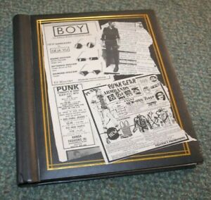 PUNK ROCK ORIGINAL PRESS BOOK 1977/1980 #2