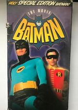 Batman: The Movie (VHS, 2001)  Holy SPECIAL EDITION Batman!  Good Condition VG
