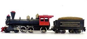 TYCO HO 4-6-0 Pennsylvania Wood Burning 4-6-0 Loco & Tender Excellent Tested (2)