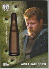 Topps Walking Dead Season 7 ABRAHAM FORD 16/20 Shell Casing Bullet Ammo Relic
