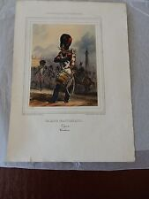 Raffet Denis-Auguste-Marie (1804-1860). Lithographer GARDE NATIONALE DRUMMER