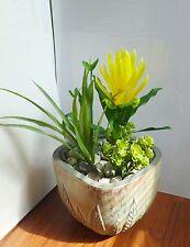 3 Artificial Plants Flower Bush Orchid Grass Home Garden Landscape