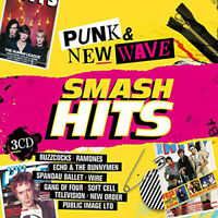Various Artists : Smash Hits Punk and New Wave CD 3 discs (2017) ***NEW***