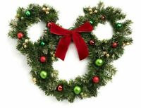 Mickey Mouse Large Wreath Disney Christmas Decoration Brand New Primark