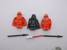 LEGO lot of Darth Vadar 2 Royal Imperial Guards Star Wars Minifigure minifig B82