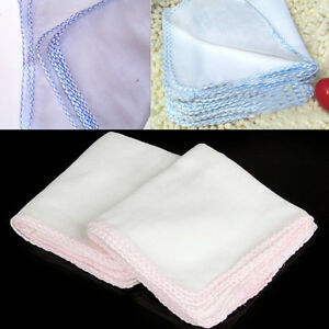 10x Cotton Face Facial Cleansing Muslin Cloth Towel Cleaning Makeup Dirt Removal
