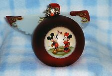 New Disney Mickey & Minnie Mouse 2007 Christmas Ornament