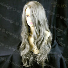 Sexy Beautiful Wavy Blonde Mix Brown Long Hair Ladies Wig From WIWIGS UK