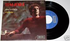 "TOM JONES : She's A Lady / My Way 7"" 45 vinyl Excellent"