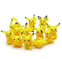 12PCS/Set Pokemon Pikachu Figure Toys PVC Mini Figure Toys Model Doll Collection