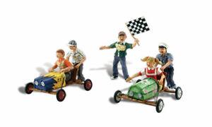 Woodland Scenics A1952 Soapbox, Figurines Miniatures H0 (1:87)