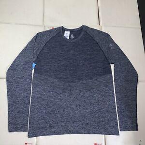 P12 NEW Men's Salomon Allroad  Seamless long sleeve Running Shirt Size XL Ebony