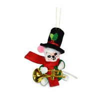 Annalee Dolls 2021 Christmas 3in Music Mouse Plush Ornament New with Box