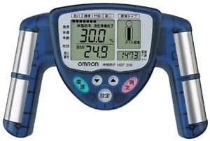 Omron body fat meter blue HBF-306-A