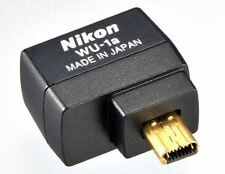 Nikon WU-1a WU1A Wi-Fi Wireless Mobile Adapter Connector D3300 D3200 D5200  New