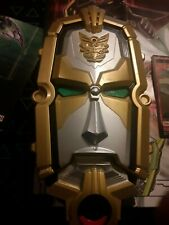 Power Rangers Megaforce Deluxe Gosei Morpher Head Card Reader 2012 Tested Works