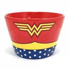 OFFICIAL DC COMICS WONDER WOMAN COSTUME CERAMIC BREAKFAST BOWL NEW IN BOX