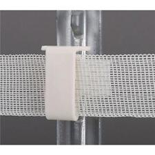 10-Dare Plastic Snap On Polytape Electric Fence T-Post Insulator 25/Pk 2334-25W