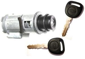 Select Chevy Suburban Tahoe Liftgate Push Style Lock Cylinder 2 Chevy Logo Keys