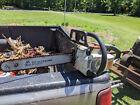 Vintage Stihl 011AV arborist Electric stop chainsaw firewood tool collectible sa