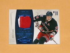 2010-11 Panini Dominion Jersey Number Patch Hockey Card # 65 Marc Staal /25
