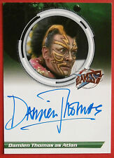 BLAKE'S 7 - DAMIEN THOMAS as Atlan - Autograph Card - Unstoppable Cards