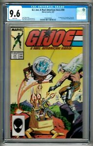 G. I. Joe, A Real American Hero 59 (1976) CGC 9.6 White Pgs.  Hama - Zeck