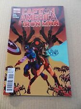Captain America And Iron - Man  635 .  Marvel 2012 -  VF
