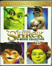 Shrek 4-Movie Collection Blu-ray Anniversary Edition Brand New