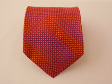 CLUB SILK TIE SETA CRAVATTA MADE IN ITALY  A5961