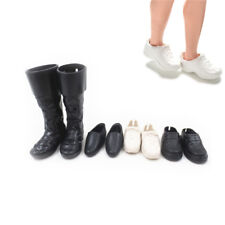 4 Pairs/Set Dolls Cusp Shoes Sneakers Knee High Boots for Ken TR