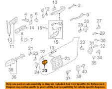 AUDI OEM 10-16 Q5 Front Door-Lock Actuator Motor 8J1837015F
