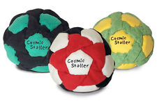 Cosmic Staller 32-panel footbag hacky sack dirtbag sand filled - Pack of THREE