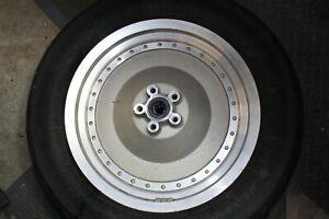 """solid rear wheel 16"""" 1993 FXLR Harley FXR FXRT FXRP XL Dyna FXD Softail EPS24061"""