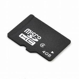 Micro SD 4GB SDHC Memory Card Microsd TF Mobile Phone Class 4
