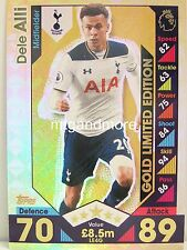Match Attax 2016/17 Premier League - LE4G Dele Alli - Limited Edition