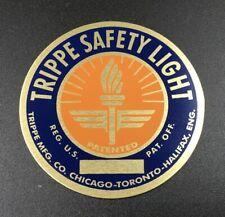 Standard Orange & Blue Trippe Light Badge - Pair of Two