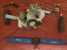 Dle170 170Cc Gasoline Engine Model Airplane Gas Engine (Electric Start Version)