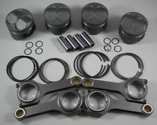 JDM NIPPON RACING 84MM FLOATING B16B CTR PISTONS RINGS SCAT RODS PCT B20 VTEC