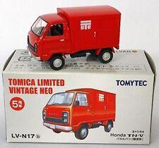 TOMYTEC TOMY TOMICA LIMITED Vintage LV-N17b Honda TN-V Panel Van Japan Mail 1:64