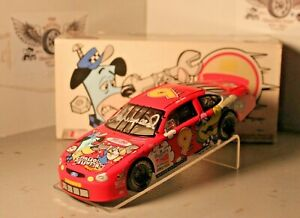 1998 Lake Speed Cartoon Network 1/24 Action NASCAR Diecast Autographed